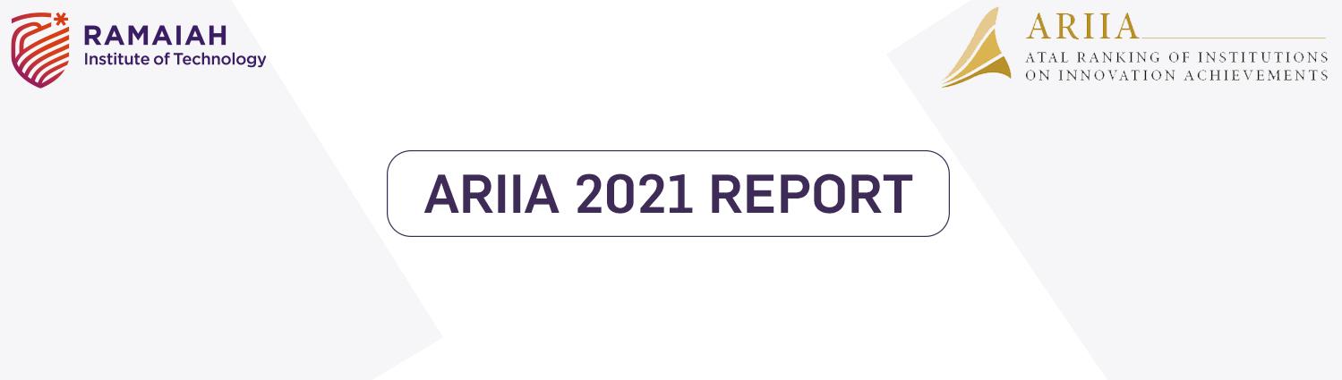 RIT ARIIA REPORT 2021